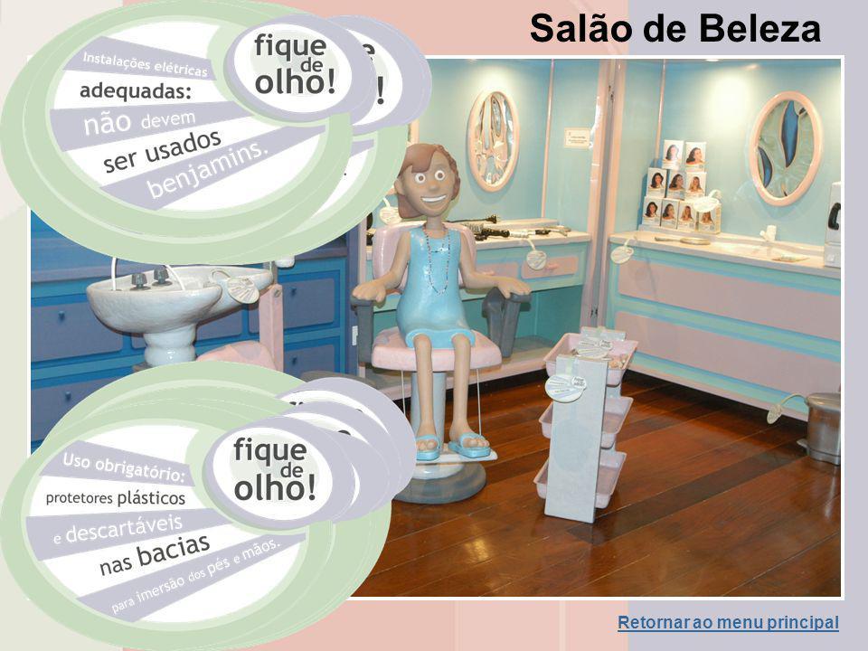 Salão de Beleza Retornar ao menu principal
