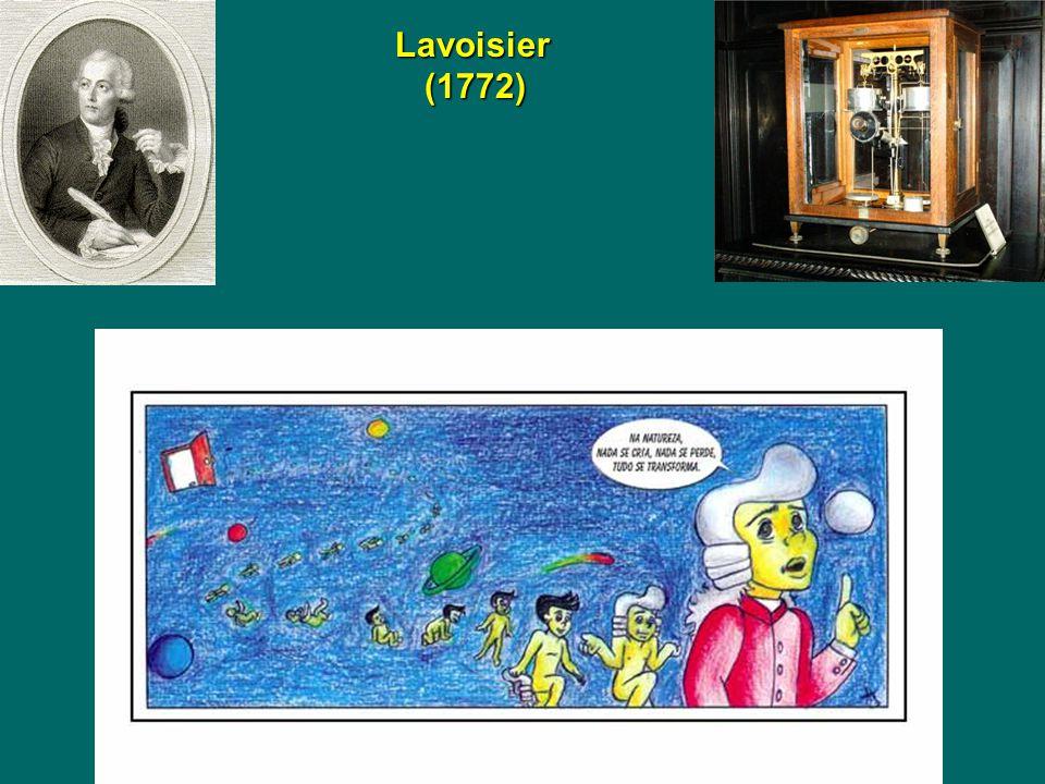 Lavoisier (1772) Lavoisier (1772)