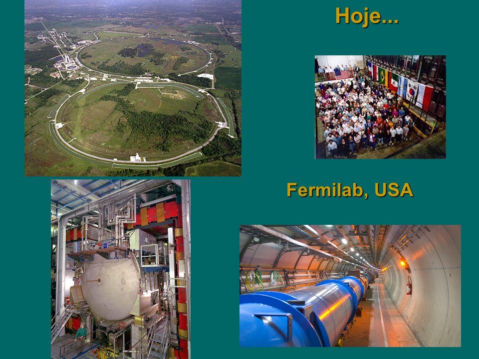 Fermilab, USA Hoje...