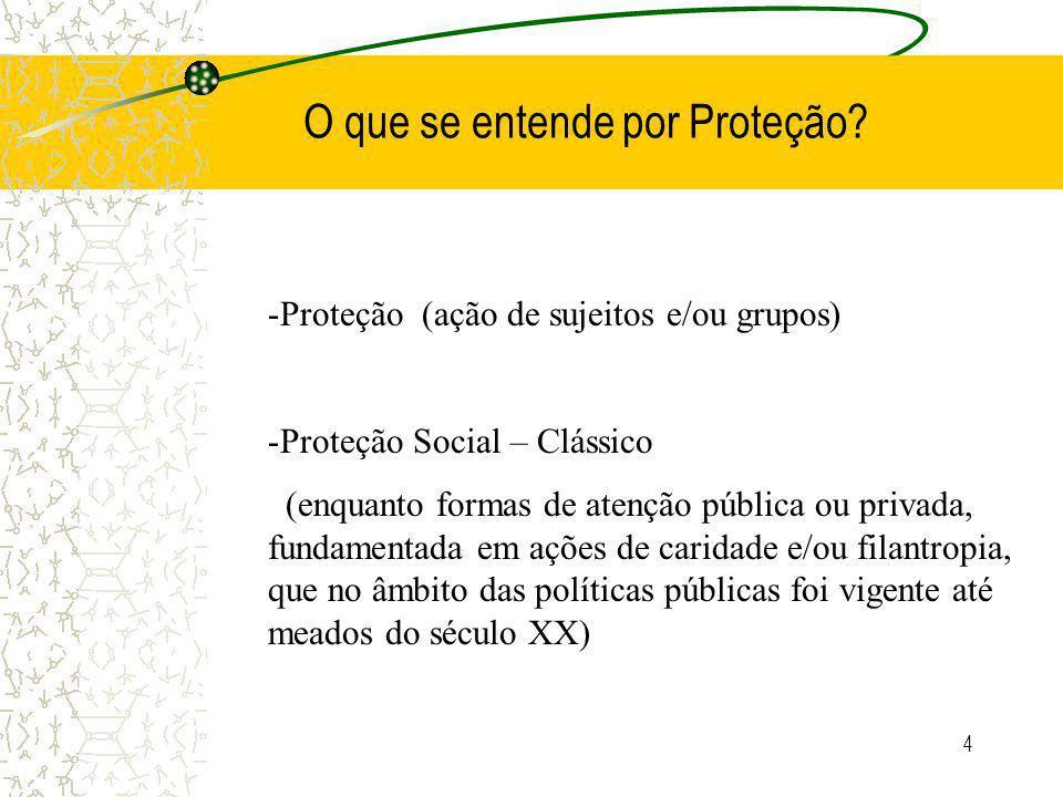 4 O que se entende por Proteção.