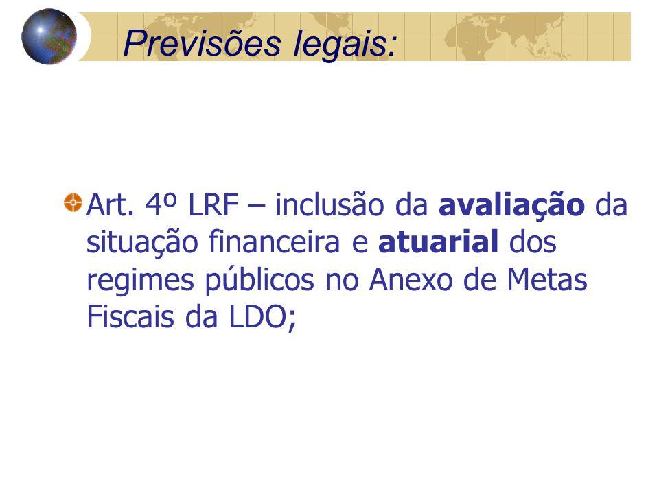 Previsões legais: Art.