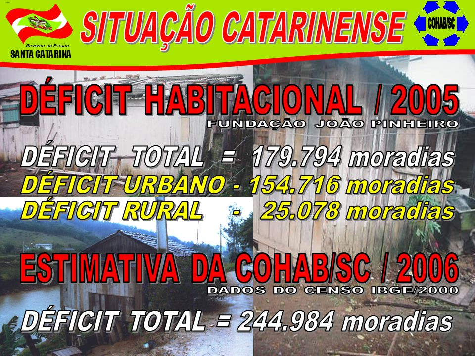 Governo do Estado SANTA CATARINA COMPOSIÇÃO DO GRUPO DE TRABALHO INTERINSTITUCIONAL Companhia Catarinense de Águas e Saneamento – CASAN Centrais Elétricas de Santa Catarina S.A.