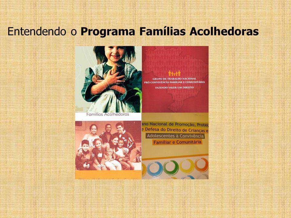 Entendendo o Programa Famílias Acolhedoras