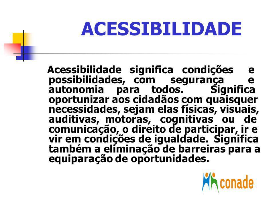 EIXOS TEMÁTICOS Educação e Trabalho; Educação pública de qualidade para todos Equiparação de oportunidades garantindo trabalho com eficiência para as pessoas com deficiência
