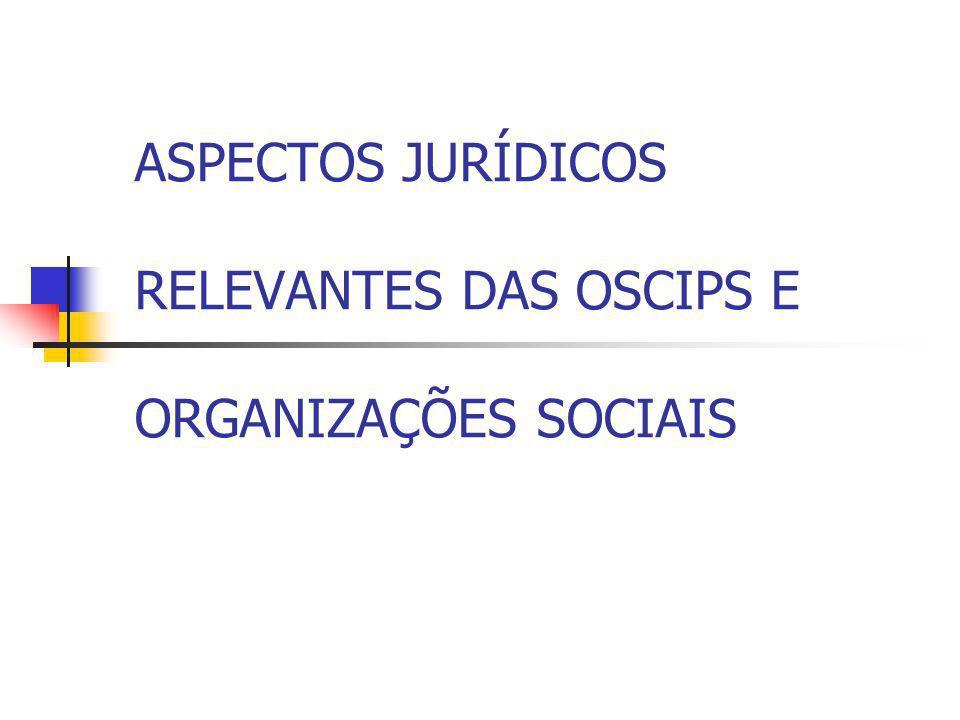 TERMO DE PARCERIA – DECRETO 3100/99 Concurso de Projetos – art.