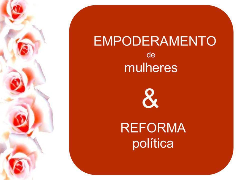 & política de mulheres A nossa luta, das mulheres, por um mundo melhor, mais justo e igualitário é milenar. Muitas mulheres antes de nós trilharam um