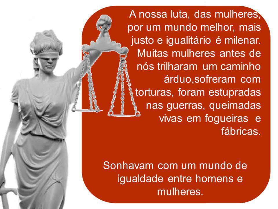 SANTA CATARINA Construir uma consciência coletiva da importância da participação da mulher na POLÍTICA.
