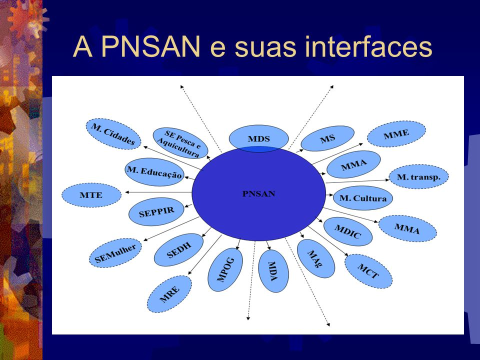 A PNSAN e suas interfaces
