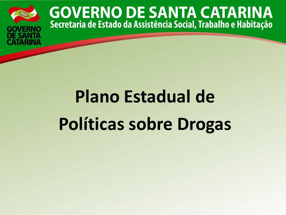 Plano Estadual de Políticas sobre Drogas