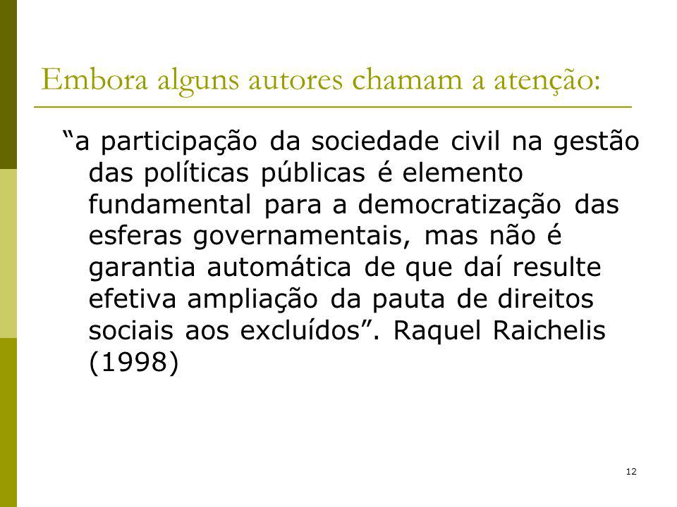 13 Controle Social na Política de Assistência Social .