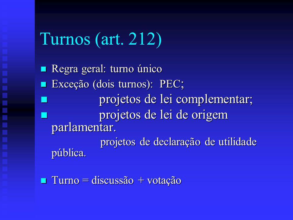 Turnos (art.