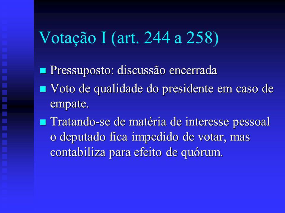 Votação I (art.