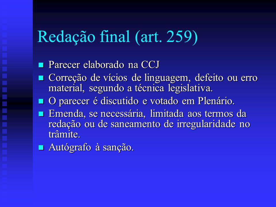 Redação final (art.