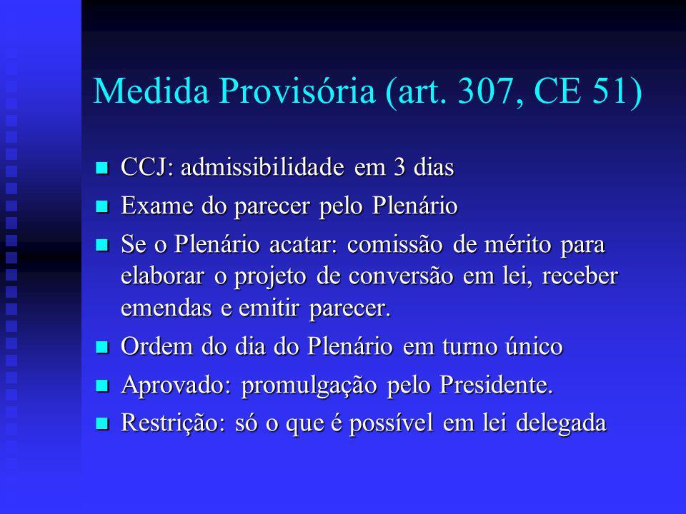 Medida Provisória (art.