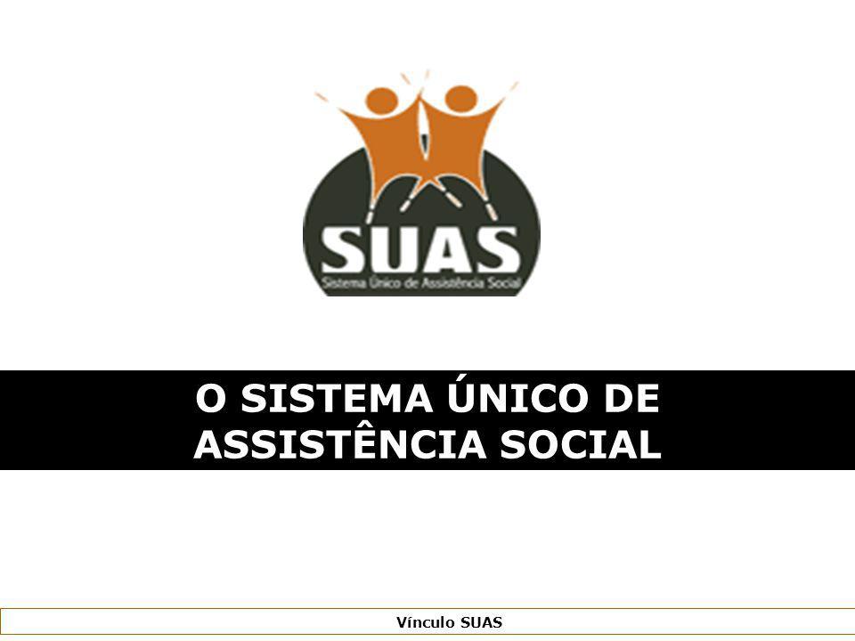 Ministério do Desenvolvimento Social e Combate à Fome Secretaria Nacional de Assistência Social Vínculo SUAS O SISTEMA ÚNICO DE ASSISTÊNCIA SOCIAL