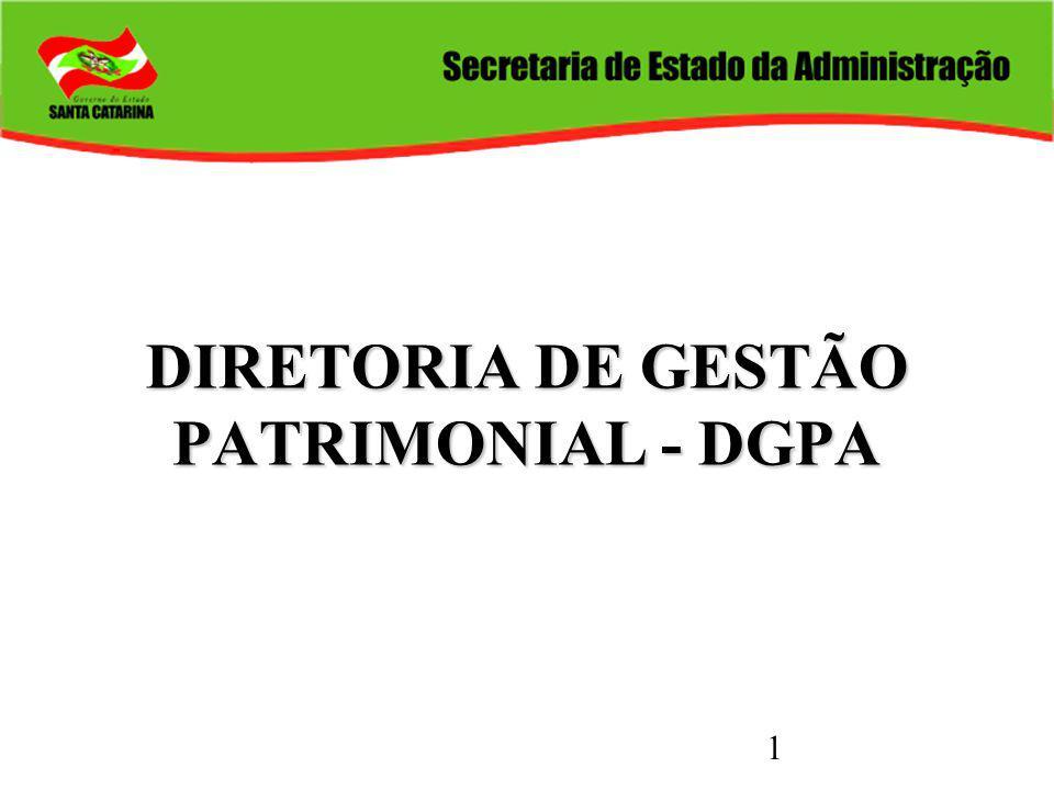 1 DIRETORIA DE GESTÃO PATRIMONIAL - DGPA