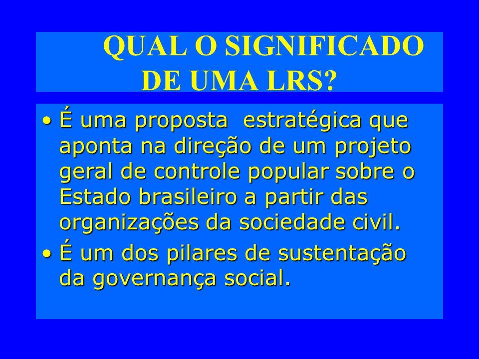 QUAL O SIGNIFICADO DE UMA LRS.