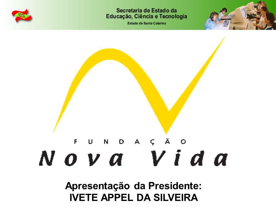Apresentação da Presidente: IVETE APPEL DA SILVEIRA