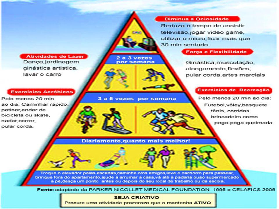 A escolha do exercício adequado Risco associado à atividade: lesão, em determinados indivíduos que já são predispostos.