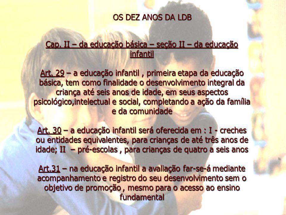 AS INOVAÇÕES HAVERÁ A OBRIGATORIEDADE DA EDUCAÇÃO ARTÍSTICA NO ENSINO BÁSICO RELIGIÃO É DISCIPLINA DE OFERTA OBRIGATÓRIA E COM FREQUÊNCIA OPTATIVA, NO HORÁRIO DE AULA E SEM ÔNUS PARA OS COFRES PÚBLICOS A LEI N.9.394/96 CRIOU O CURSO NORMAL SUPERIOR, PARA MELHORAR A FORMAÇÃO DE PROFESSORES DA 1ª A 4ª SÉRIE OS CURRÍCULOS DO ENSINO FUNDAMENTAL E MÉDIO DEVERÃO TER UMA BASE NACIONAL COMUM, A SER COMPLEMENTADA POR UMA PARTE DIVERSIFICADA, DE ACORDO COM CARACTERÍSTICAS REGIONAIS A LEI N.9.394/ 96 PROCUROU VALORIZAR O MAGISTÉRIO, ESTABELECENDO CRITÉRIOS DE INGRESSO E PROGRESSÃO, CRIANDO BASES PARA A ESTRUTURAÇÃO DA CARREIRA