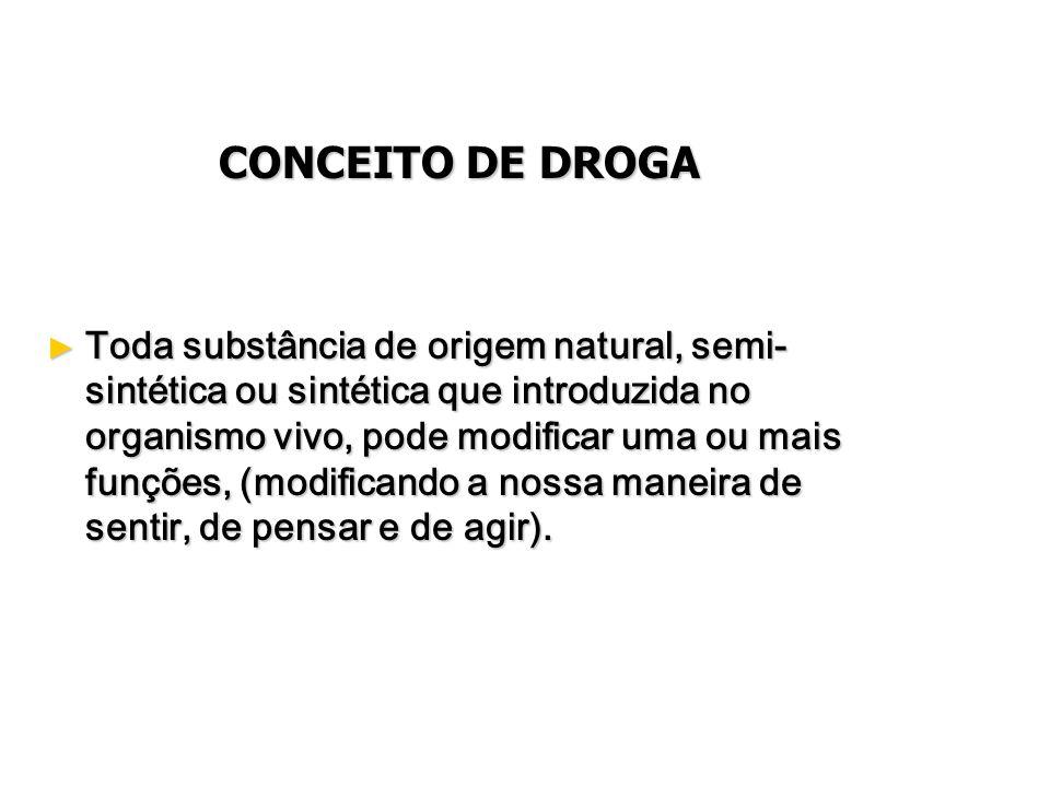 Drogas psicotrópicas Drogas psicotrópicas Psico vem do grego psyché que significa alma, mente.