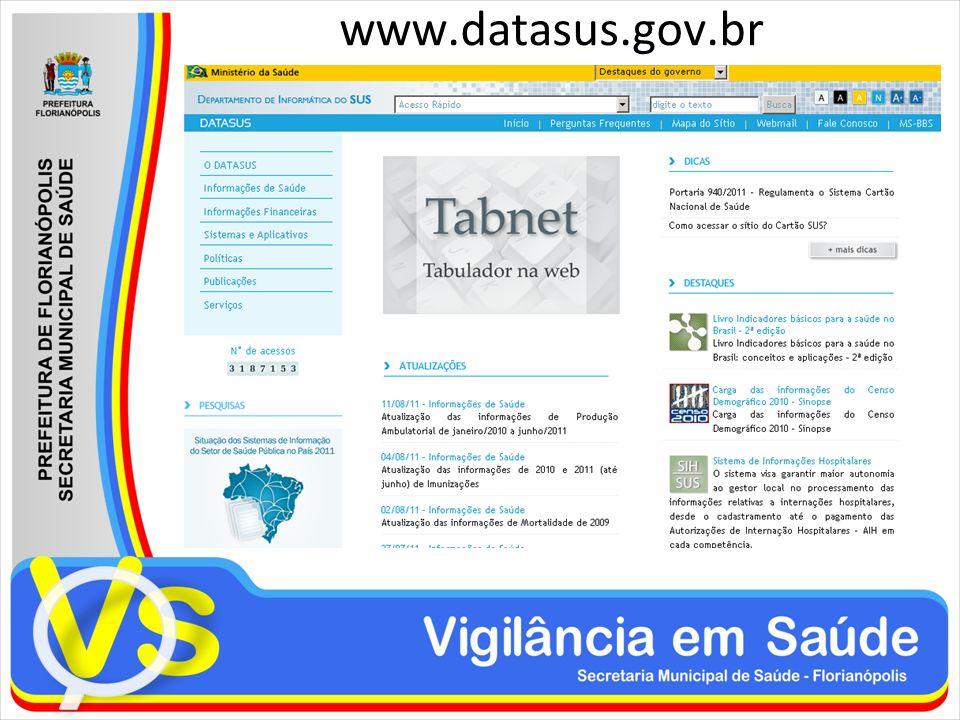 www.datasus.gov.br