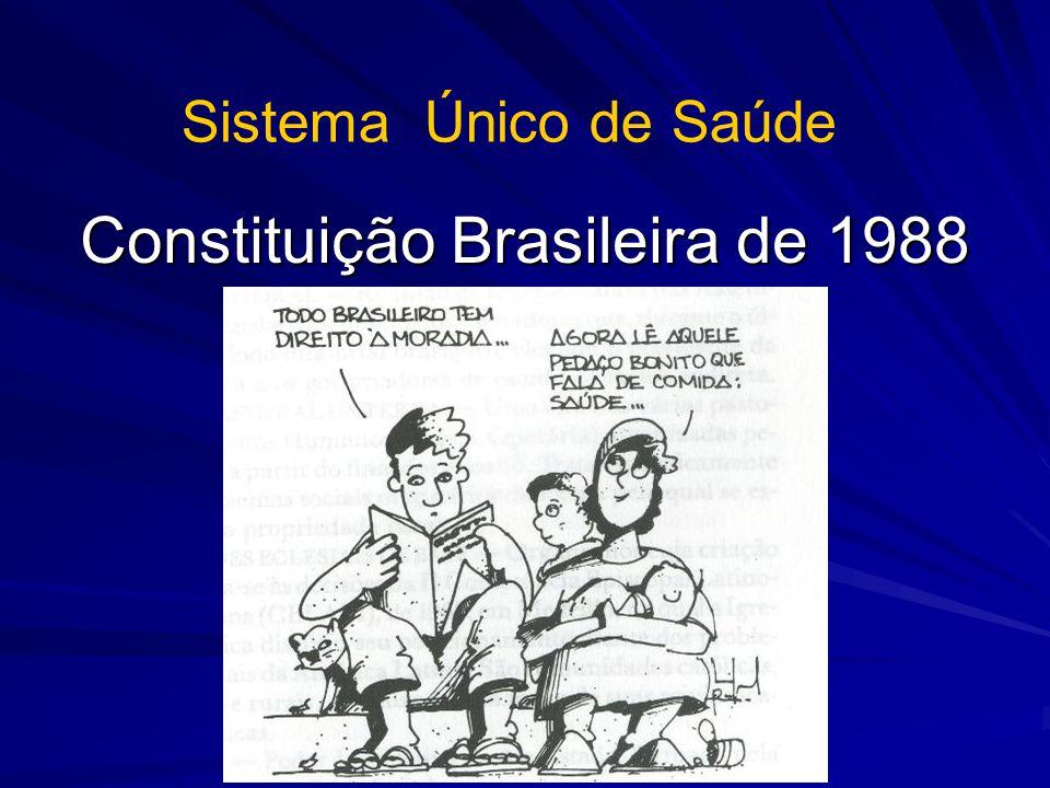 Constituição Brasileira de 1988 Sistema Único de Saúde