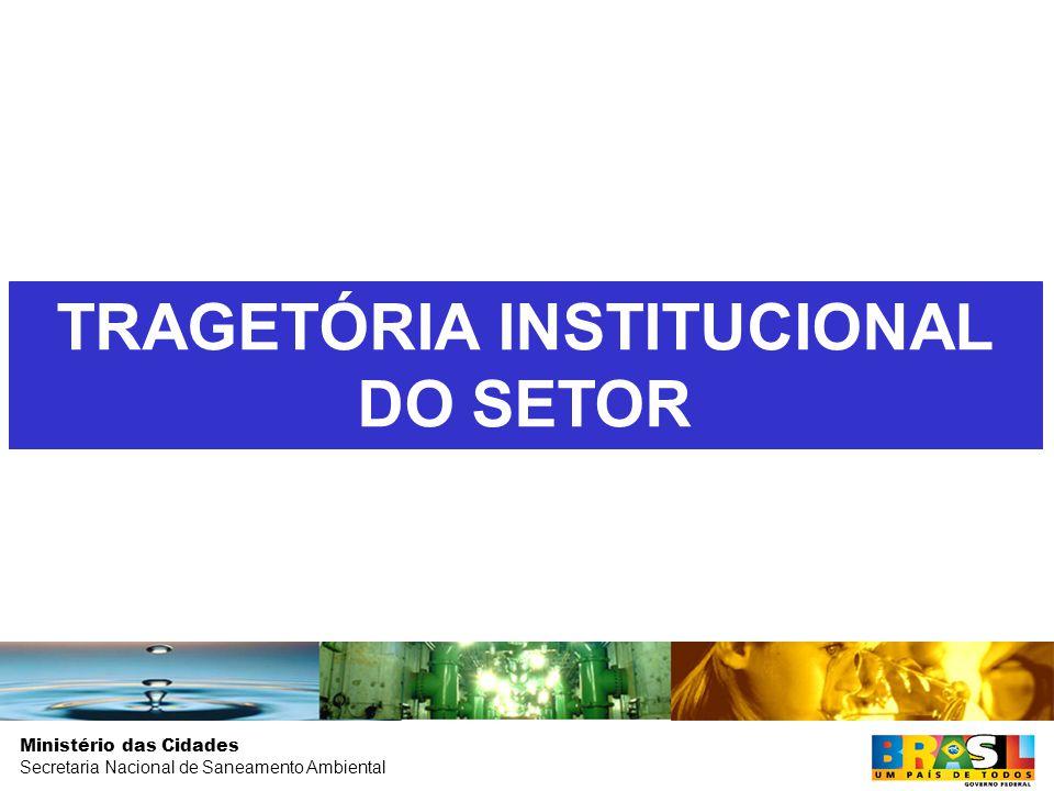 Ministério das Cidades Secretaria Nacional de Saneamento Ambiental LOCALIZAÇÃO DAS CARÊNCIAS NO TERRITÓRIO