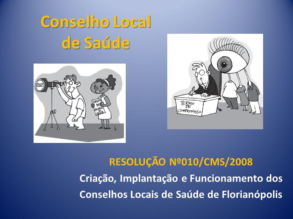 O que é um Conselho Local de Saúde (CLS).