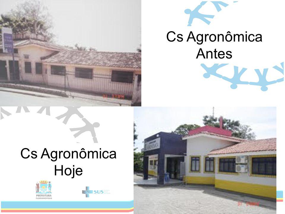 Cs Agronômica Antes Cs Agronômica Hoje