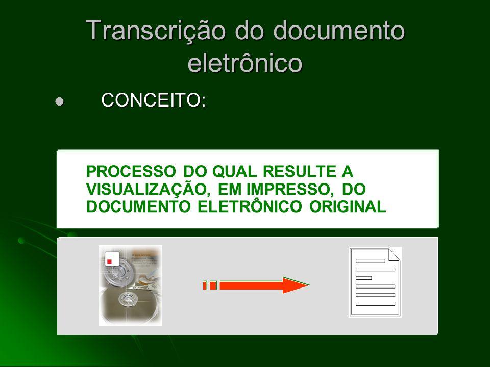 Efeito básico da Autenticação Digital Efeito básico da Autenticação Digital GARANTIA DA INALTERABILIDADE LÓGICA DO DOCUMENTO ELETRÔNICO, PELA VINCULAÇÃO DE SEU CONTEÚDO (CADEIA DE BITS) COM UMA CHAVE DIGITAL AUTENTICADORA DOCUM.