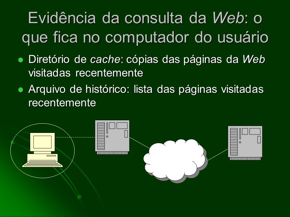 Navegar a Web: a interação entre o cliente e o servidor O programa do cliente (browser) exibe o documento transmitido na tela do usuário O programa do
