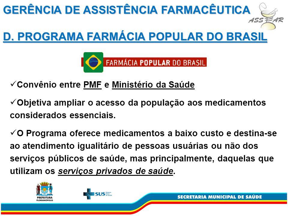 Convênio entre PMF e Ministério da Saúde Objetiva ampliar o acesso da população aos medicamentos considerados essenciais.