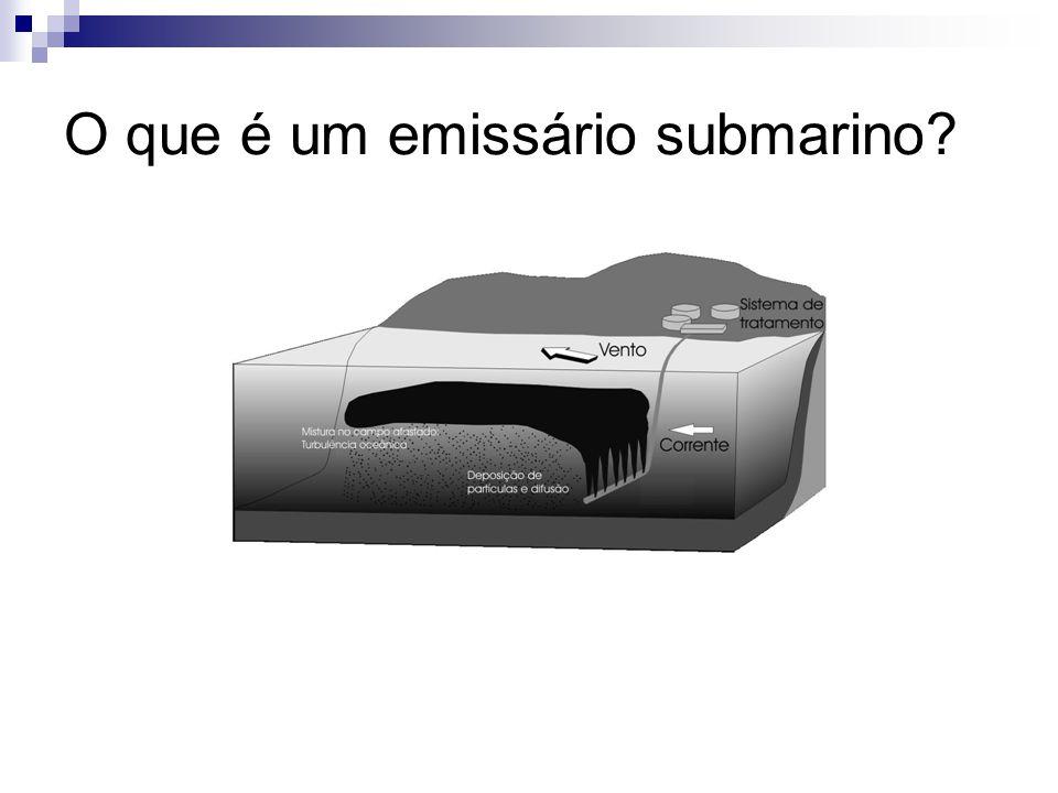 O que é um emissário submarino?