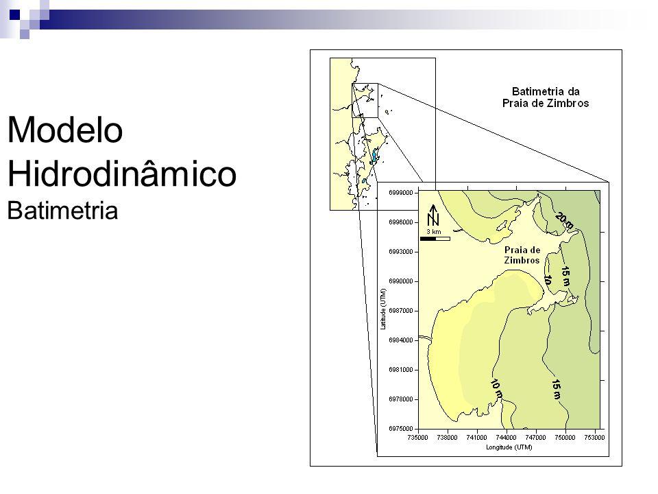 Modelo Hidrodinâmico Batimetria