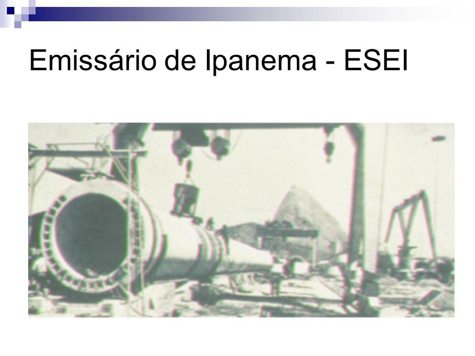 Nova proposta Emissário dos Ingleses Emissário do Campeche Com tratamento secundário e desinfecção