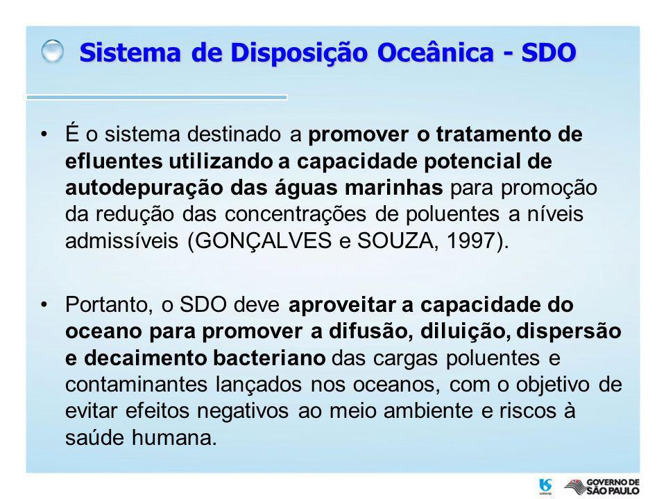 Sistema de Disposição Oceânica do Guarujá Transporte dos tramos do emissário da Enseada e detalhe do difusor
