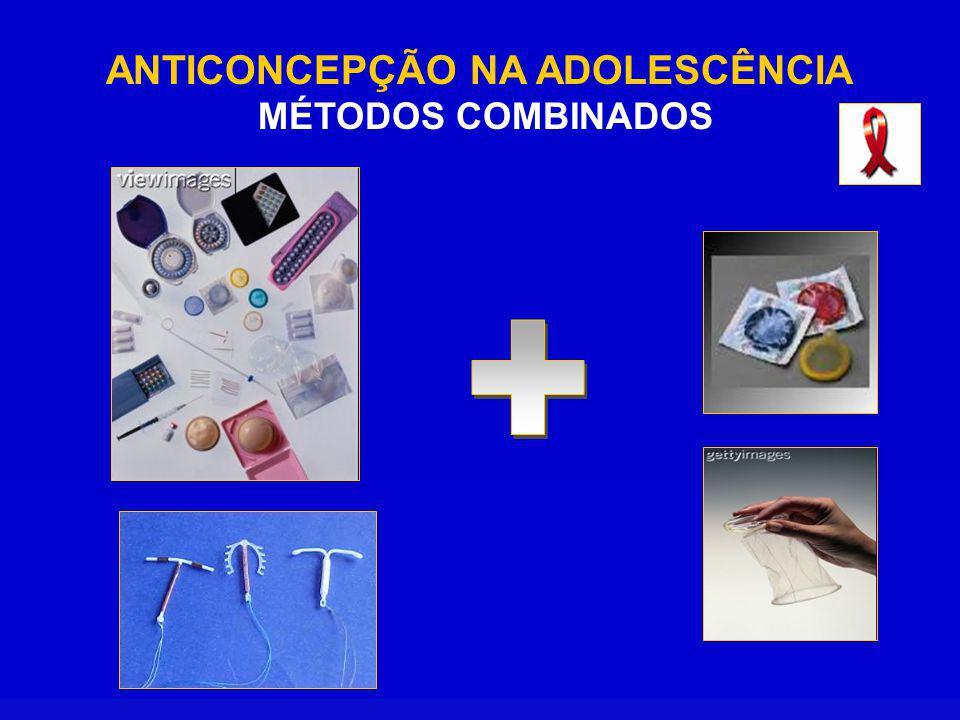 ANTICONCEPÇÃO NA ADOLESCÊNCIA MÉTODOS COMBINADOS