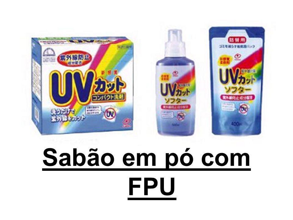 Sabão em pó com FPU