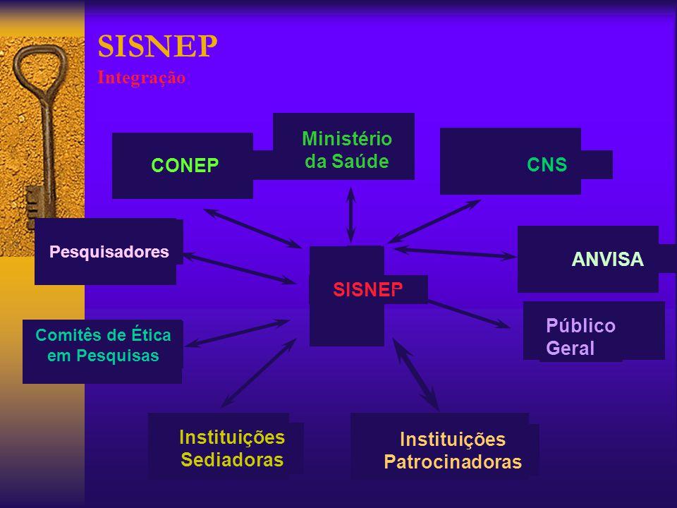 SISNEP - Como funciona.