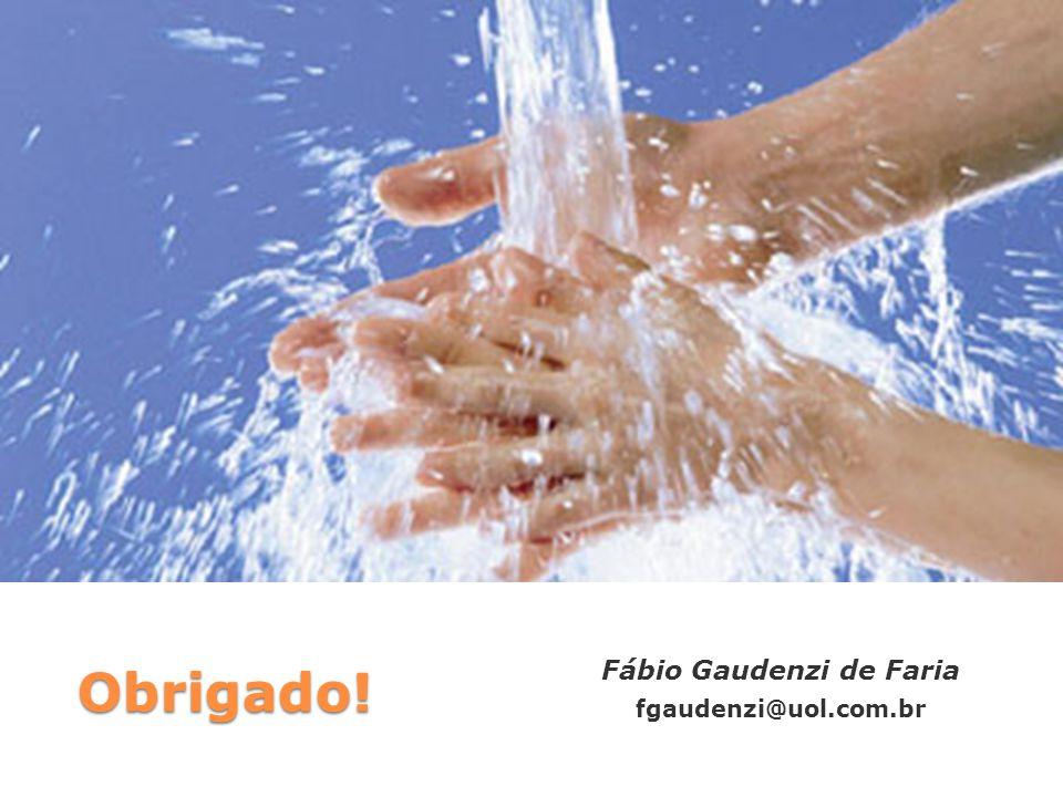 Obrigado! Fábio Gaudenzi de Faria fgaudenzi@uol.com.br