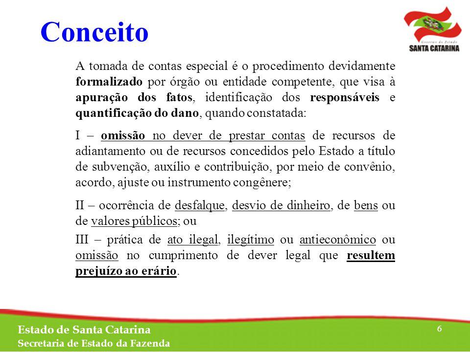 Objetivos O objetivo principal da instauração de TCE é a obtenção do ressarcimento ao erário.