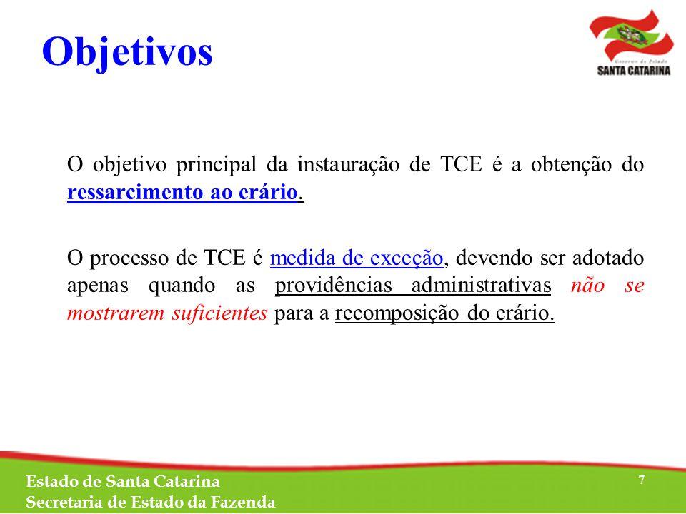 São objetivos da TCE apuração dos fatos que resultaram em prejuízo ao erário com a demonstração da relação de causalidade entre a conduta dos responsáveis e o resultado (o que e quando ocorreu.