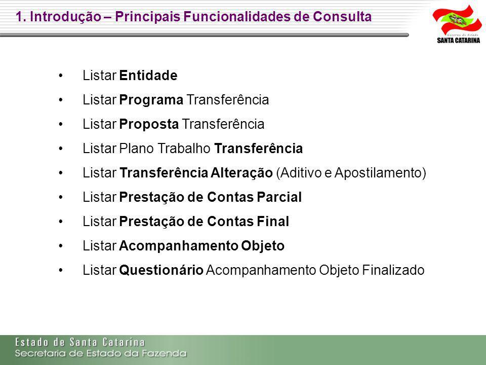 2. PROGRAMA DE TRANSFERÊNCIA e VALIDAÇÃO DO CADASTRO DO PROPONENTE