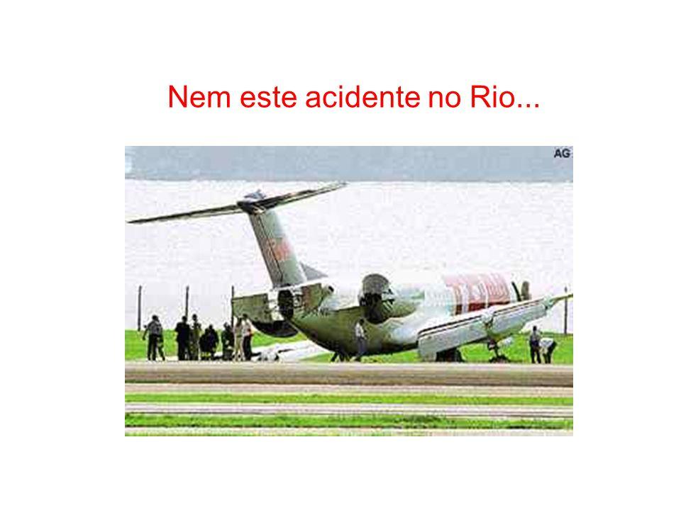 Você não viu este acidente em Navegantes-SC.