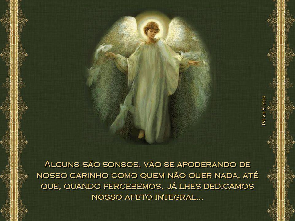 Paiva Slides No decorrer dos anos, encontramos vários tipos de anjos: