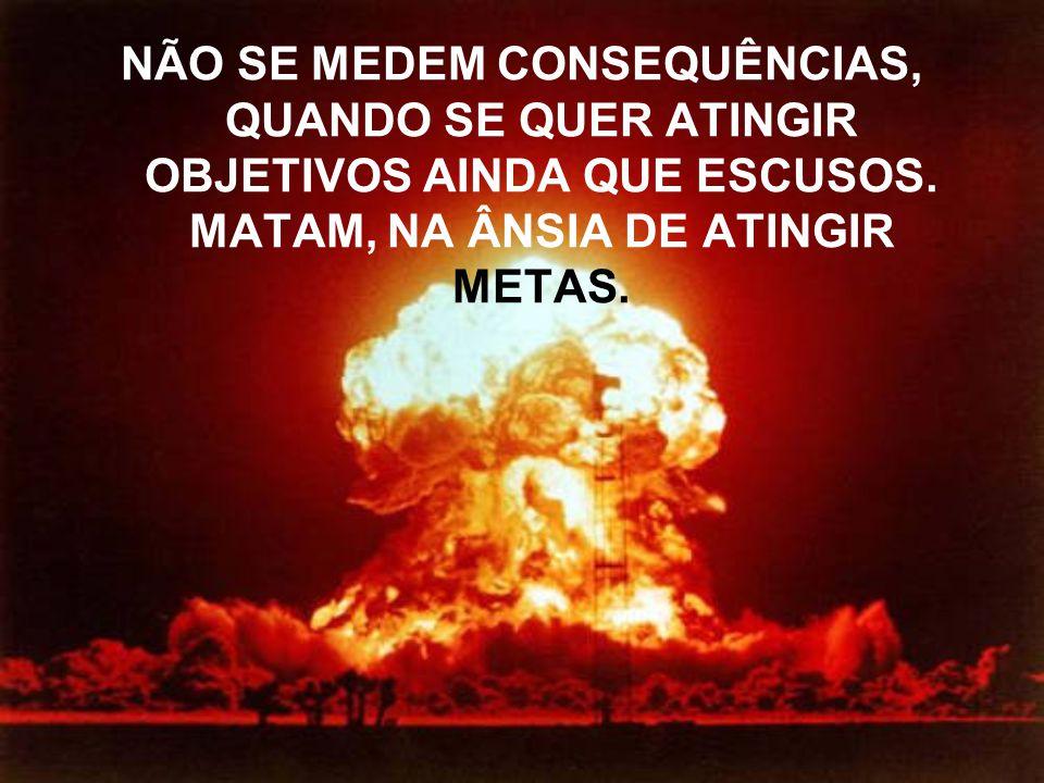 O GOVERNO SABE SENHOR, QUE AS RESERVAS DE ÁGUA POTÁVEL ESTÃO DIMINUINDO, QUE A POPULAÇÃO DO PLANETA AUMENTA A CADA ANO, QUE AS GERAÇÕES FUTURAS PODEM PAGAR UM PREÇO MUITO ALTO PELA OMISSÃO DOS DIAS DE HOJE.