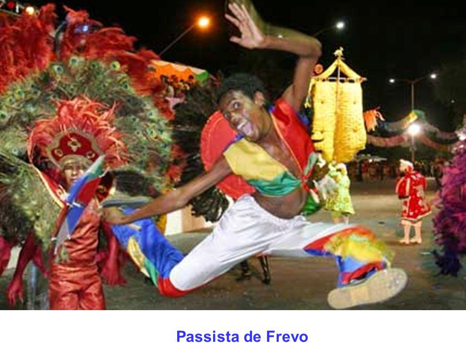 Abertura do Carnaval - Recife Antigo à noite