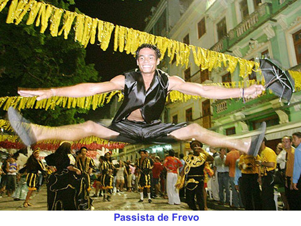 Galo da Madrugada - 1 milhão e 600 mil pessoas - Recife