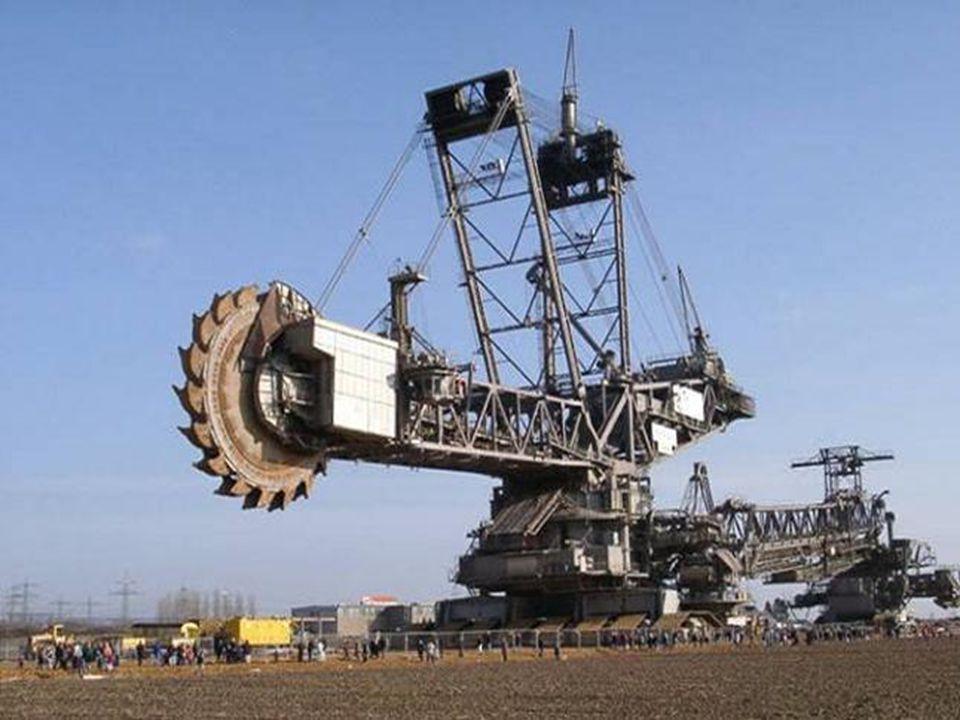 Conheça a BAGGER 288 a Maior Escavadeira do Mundo